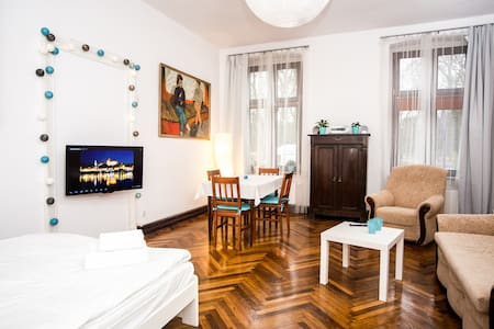 Przytulny apartament Sienkiewicza - Toruń - Apartment