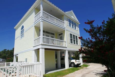 Caribbean Cove Beach House, 4br/4.5bth, 2nd Row - House
