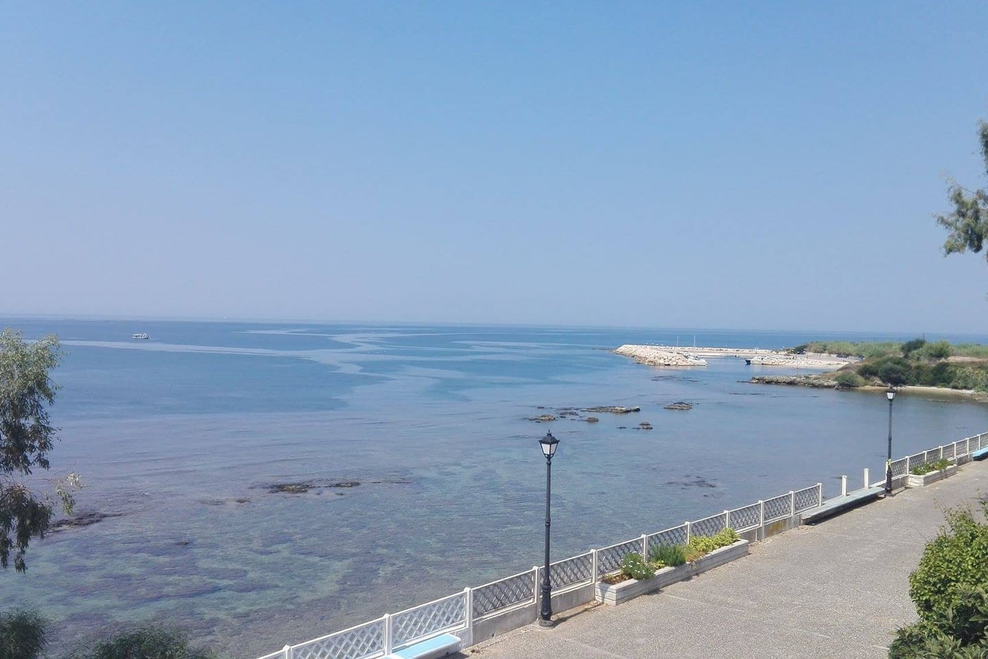 The Ionian Sea in front of the house