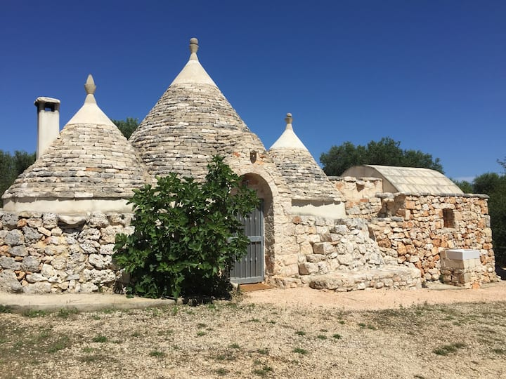 Trullo Piccolo met mini pool en wellness