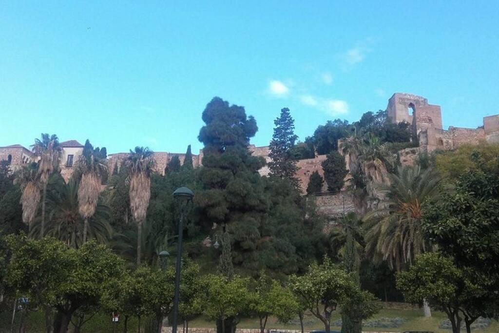 uno de los monumentos mas bellos de Malaga
