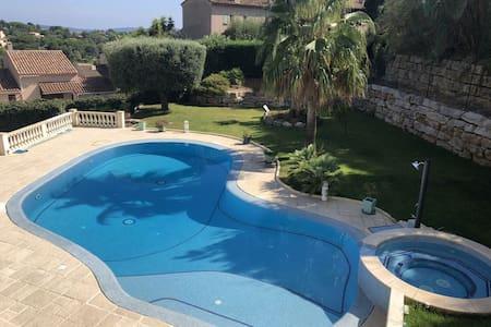 villa near beach see view swimming pool, jacuzzi