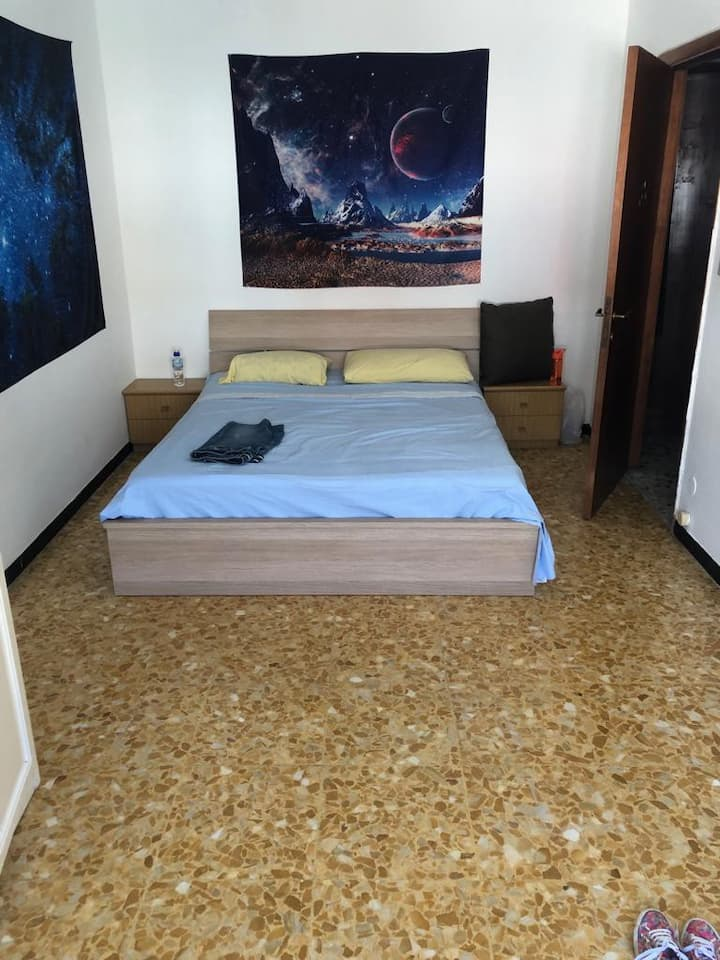 Affitto bilocale 4 pax letto Rapallo vicino centro