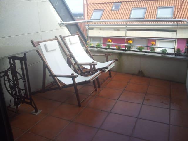 Apartamento en Boiro a 50 metros de la playa