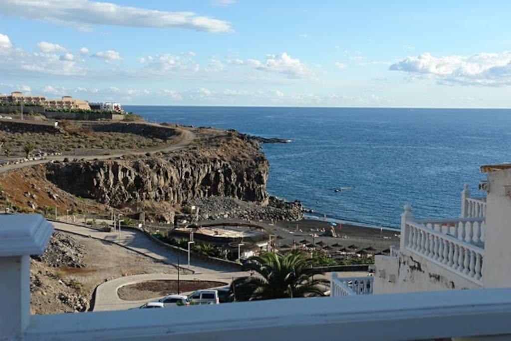Meerblick - Küstenweg nach Playa Paraiso