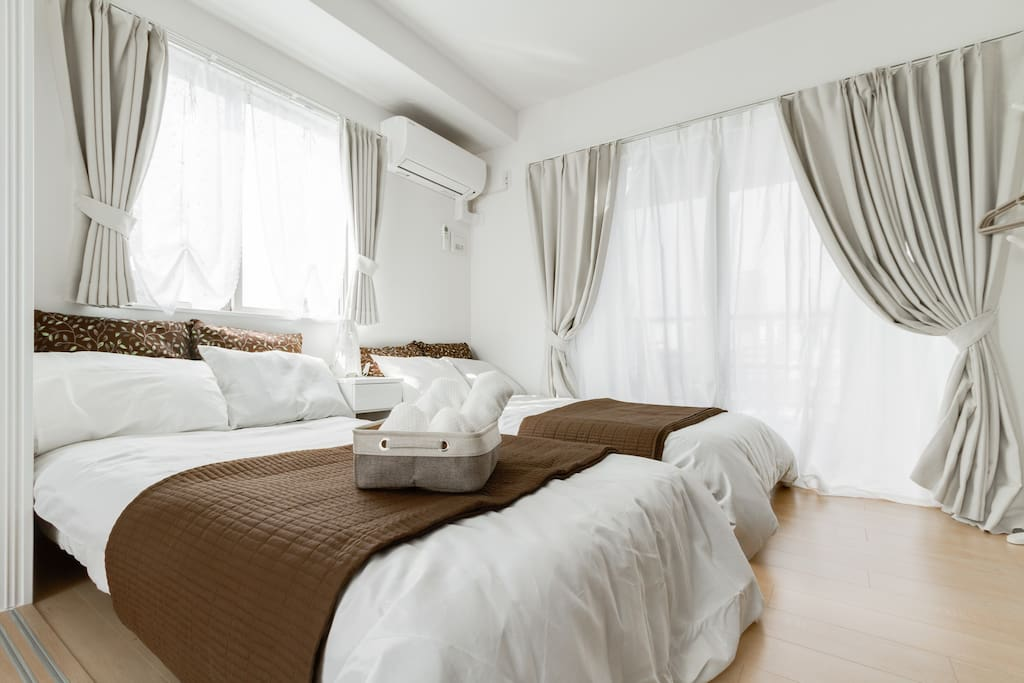 Soft and comfortable beds