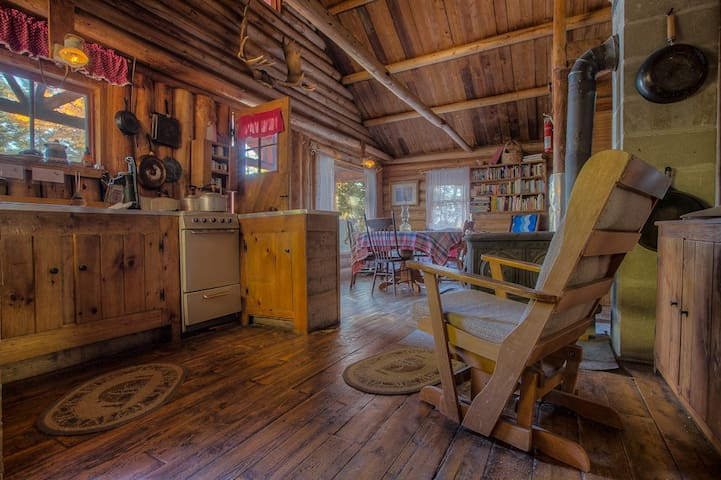 Authentic REAL Maine Off-Grid Cabin - Beaver Cove - Chalet