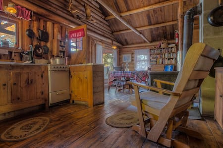 Authentic REAL Maine Off-Grid Cabin - Beaver Cove