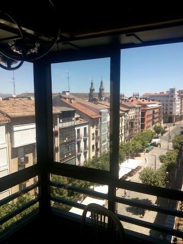 Piso moderno junto a la Laurel - Logroño - Apartament