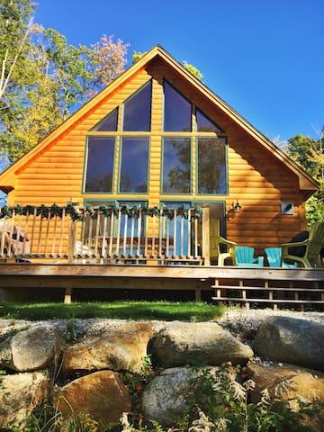 Mountain View Retreat, Near skiing, shopping - Bartlett - Kabin