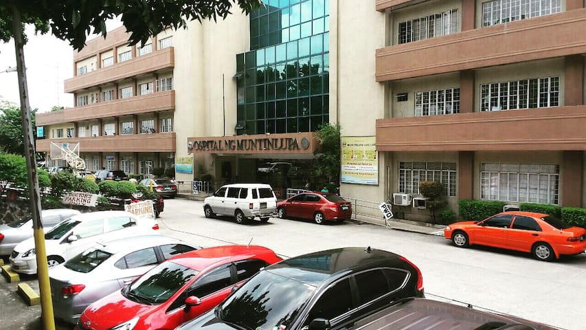 Ospital ng Muntinlupa is around a kilometer away from our place