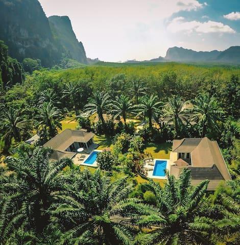 Eden Villas Complex - Tambon Khao Thong - 別墅