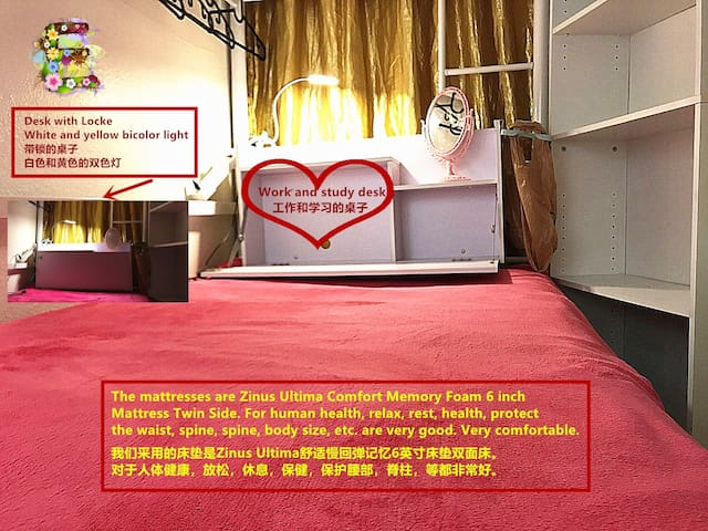 Female Only Dormitory Bed-E
