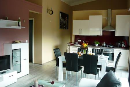 Ferienwohnung bis 6 Personen Neubau, Balkon, Sauna - Weiltingen - Leilighet