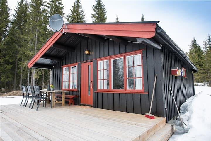 Nærglimt original mountain cabin with Sauna