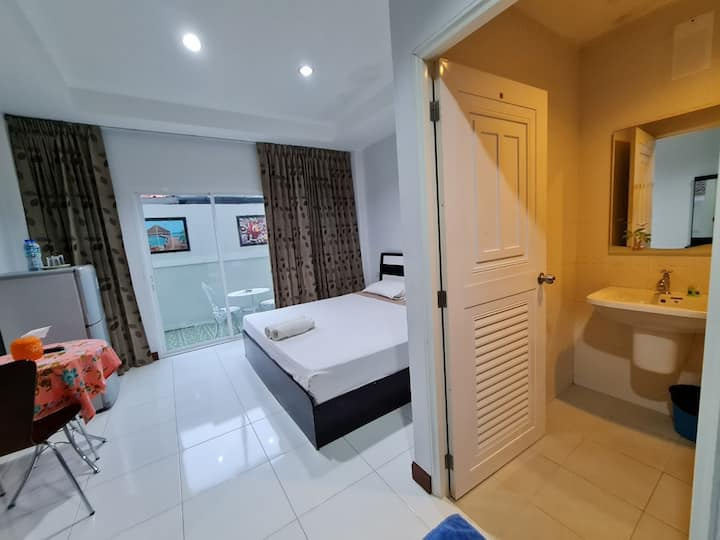 Clean Standard Double Room at S.J. Mansion Phuket