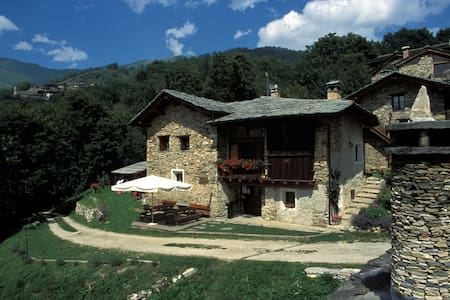 valle maira casa in montagna B&B camere e locanda - Wohnung