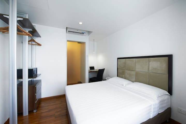 Promo Price Byte5 ~ cosy Studio Apt with Wi-Fi