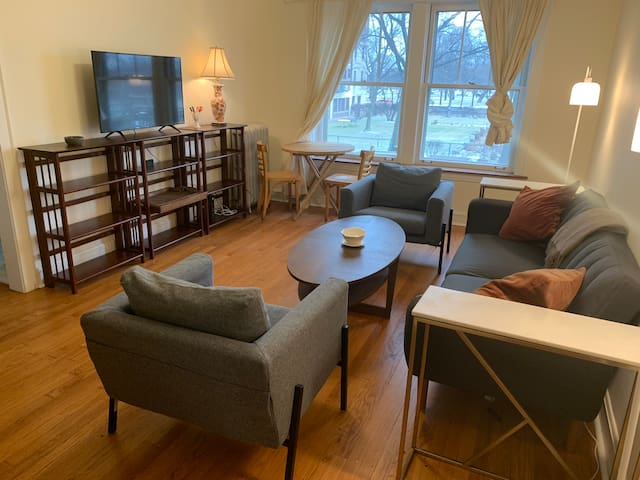 Huge, Bright One Bedroom on the Park