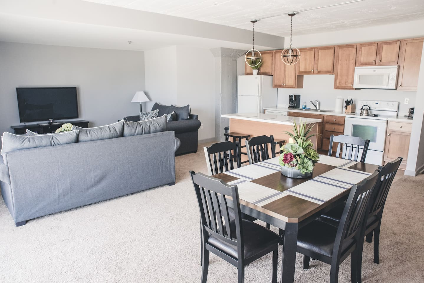 Main Living/Dining Area