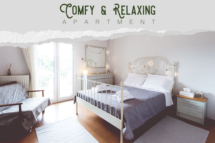 Comfy & Relaxing Apartment near city center
