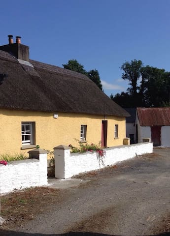 Traditional Irish Thatch Cottage - Stradbally - Cabaña