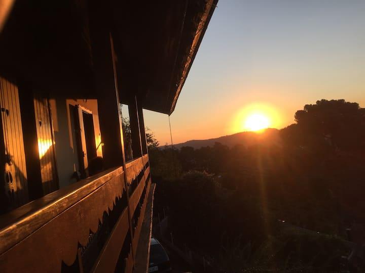 Bella Casa - Pôr do Sol Espetacular
