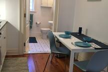 Kitchen Table, Kitchen is on the Left