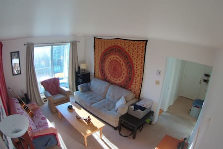 cozy room next to metro station - 拉瓦勒(Laval) - 公寓