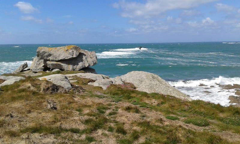 Entre mer et nature