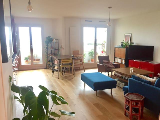 Bel appartement calme aux portes de Paris +Parking