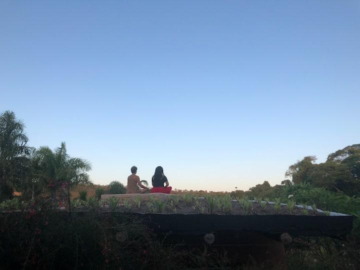 Planeta Verde - natureza e meditação em Brasília