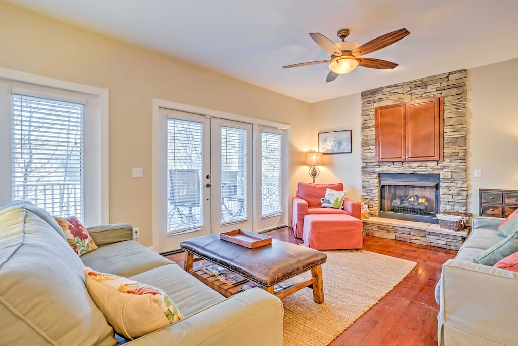 The spacious home boasts 2,200 square feet of comfortable living space.