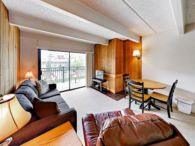 Your Lionshead village condo is professionally managed by TurnKey Vacation Rentals.