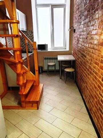Изолированный лофт-апартамент