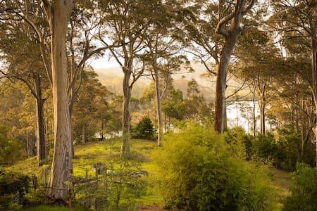 Charming studio in breathtaking garden setting.