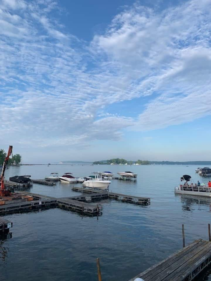 Sodus Point Waterfront Room with Amazing View