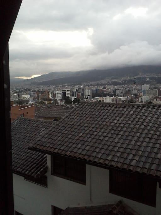 Hermosa vista del norte de la ciudad
