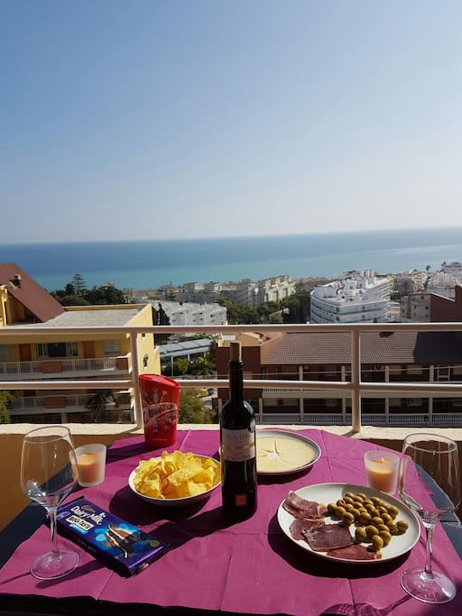 enjoy a breakfast with a fantastic view