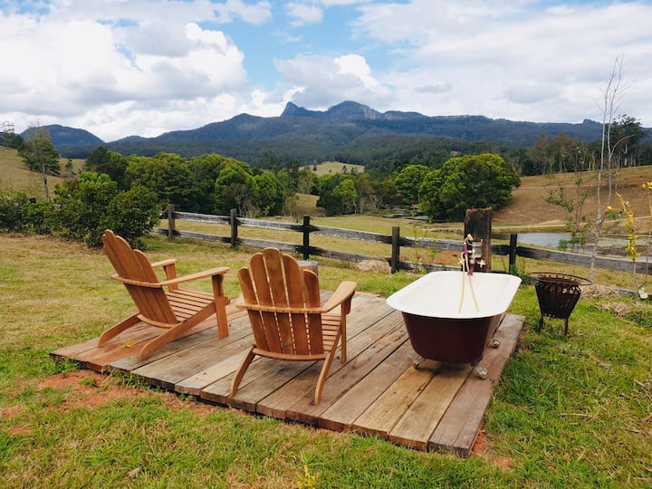 Tyalgum Springs - Space, country living and peace