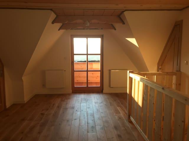 hall, top floor