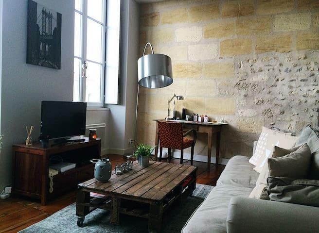 Petit nid douillet vieux Bordeaux - Bordeaux - Loft