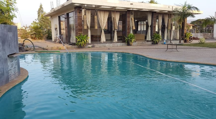 Modern 3BHK Villa no 2 with swimming pool