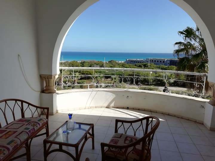 "villa ""Dar Zakia"" en face de la plage sécurisée"