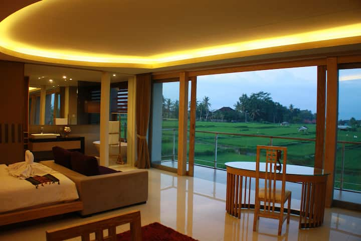 Private 1 Bedroom Ricefields Villa