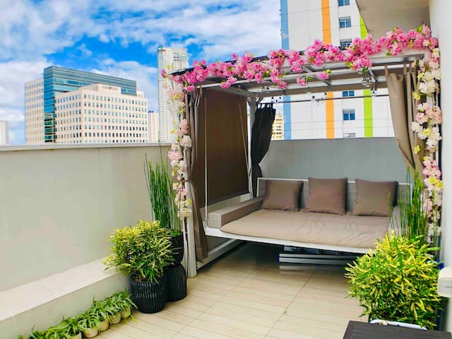 Best Value: Condo With Balcony Garden For 5 Pax