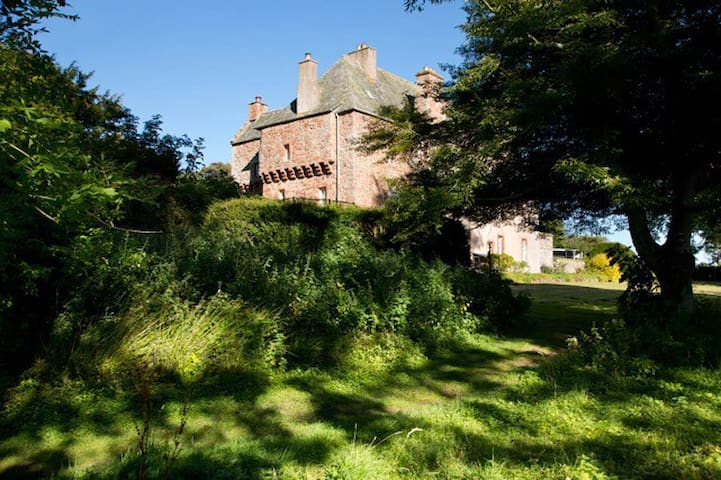 Historic castle in Borders