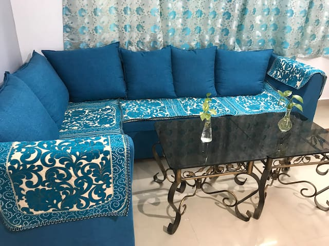 Sofa set in the living area