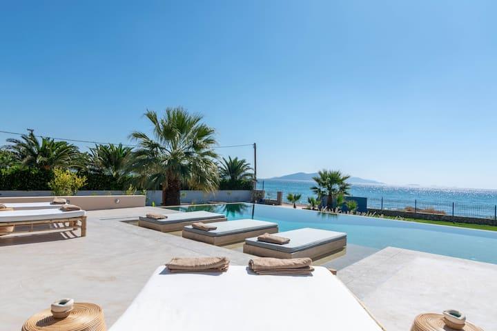 Anemos Beachfront Pool Villa 1 &/or2- Porto Cheli