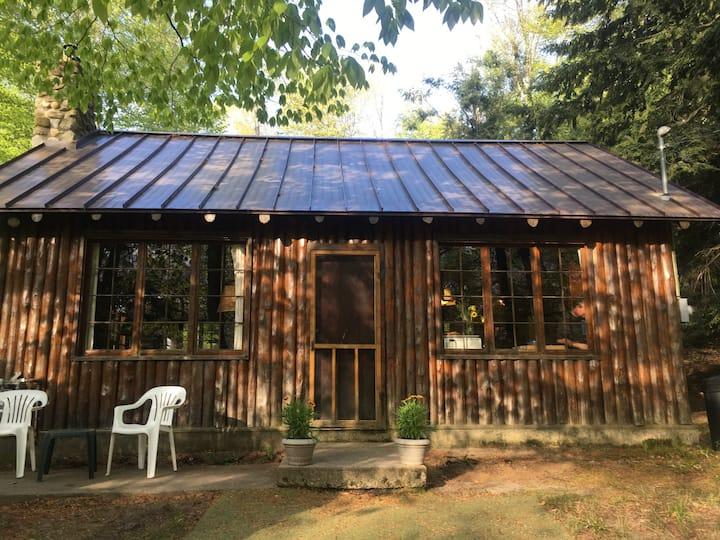 Rustic and charming log cabin!  Natural Getaway!